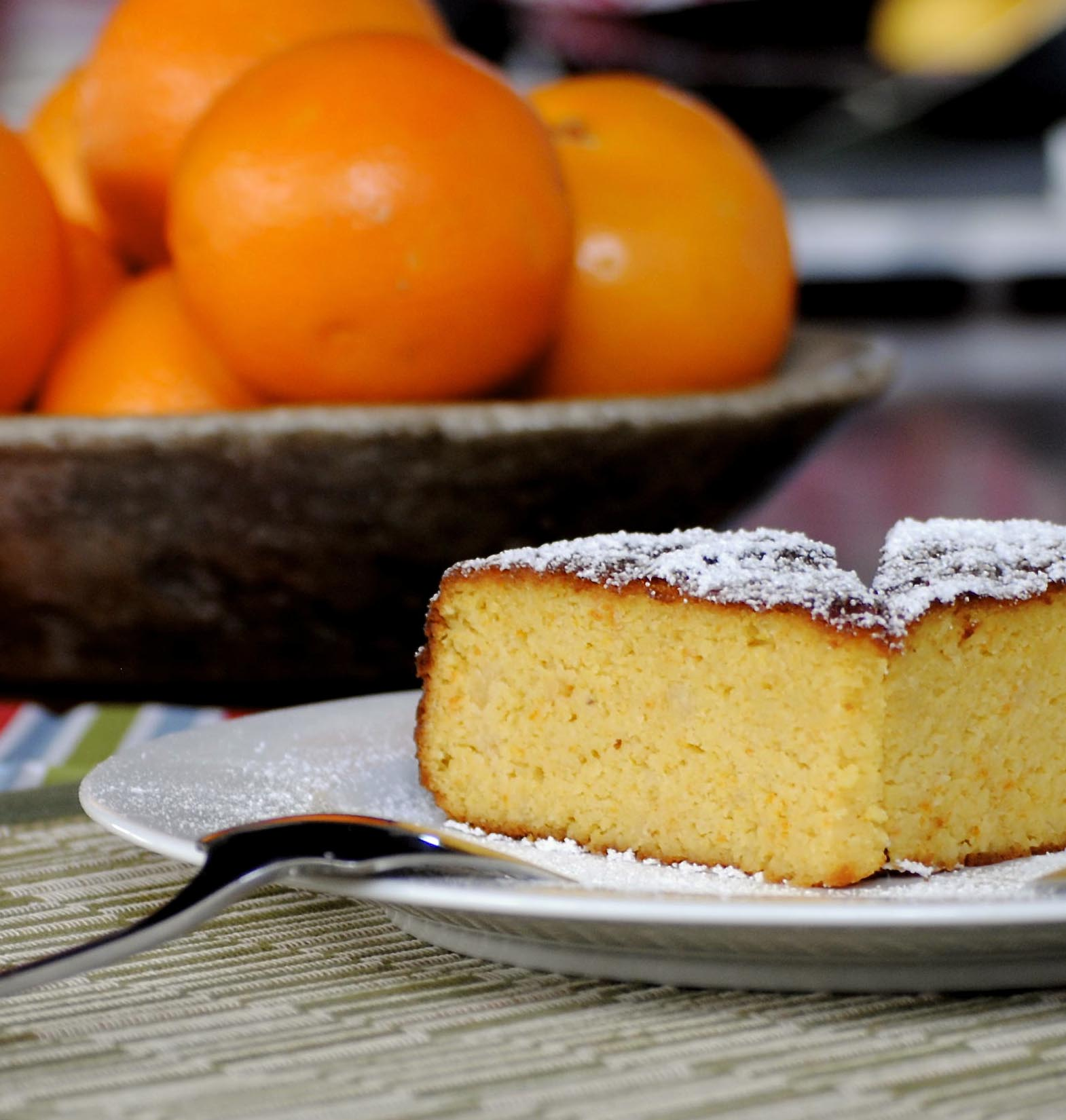 When life gives you lemons, bake a flourless orange cake