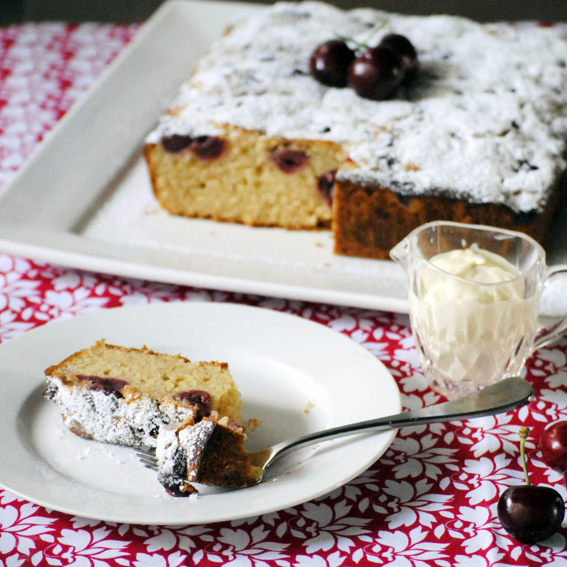 Cherry cake – Hungarian with a twist