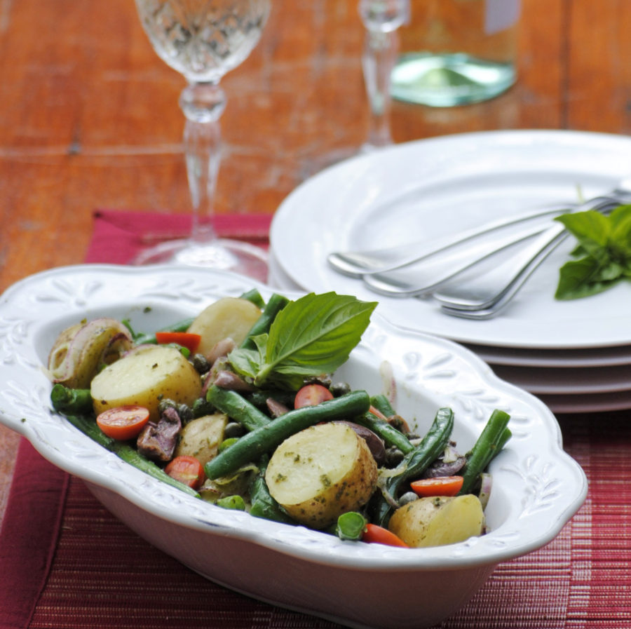 The voyage from Italy – and an italian potato salad