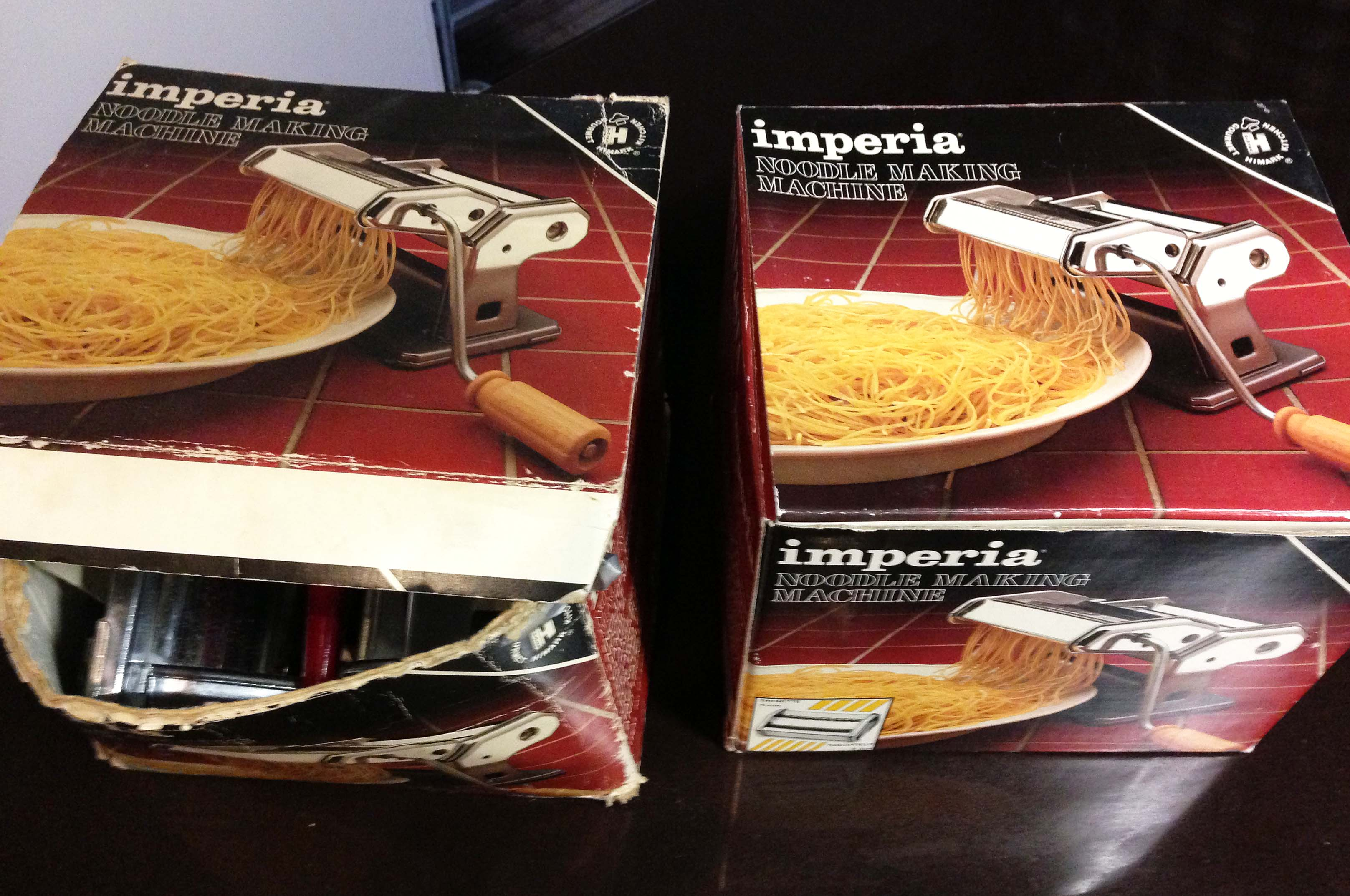 imperia pasta machine x2