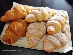 italy on my mind italian food blog italian cooking italian cake six cornetti