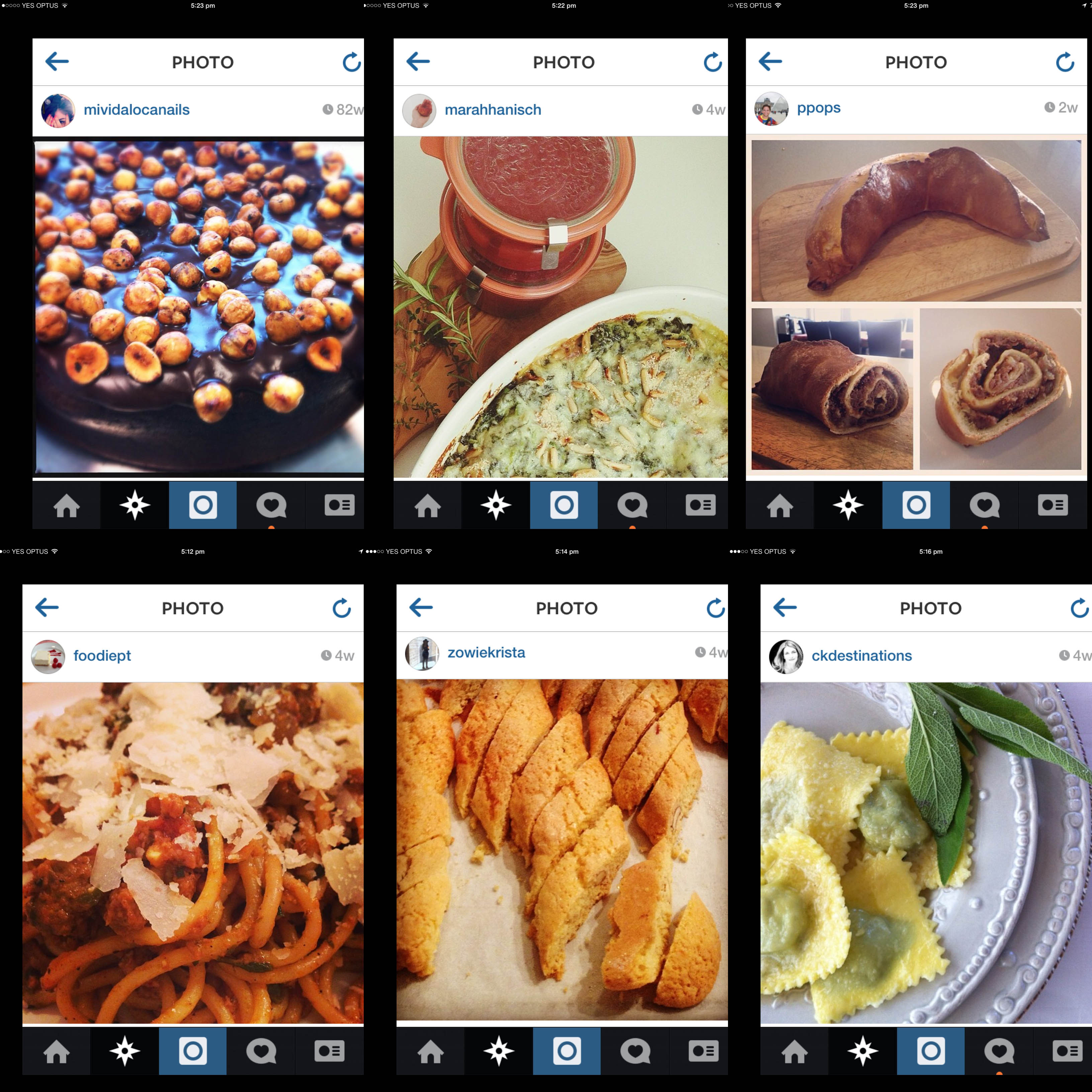 italy on my mind competition-italian food blog-instagram selection of entries2
