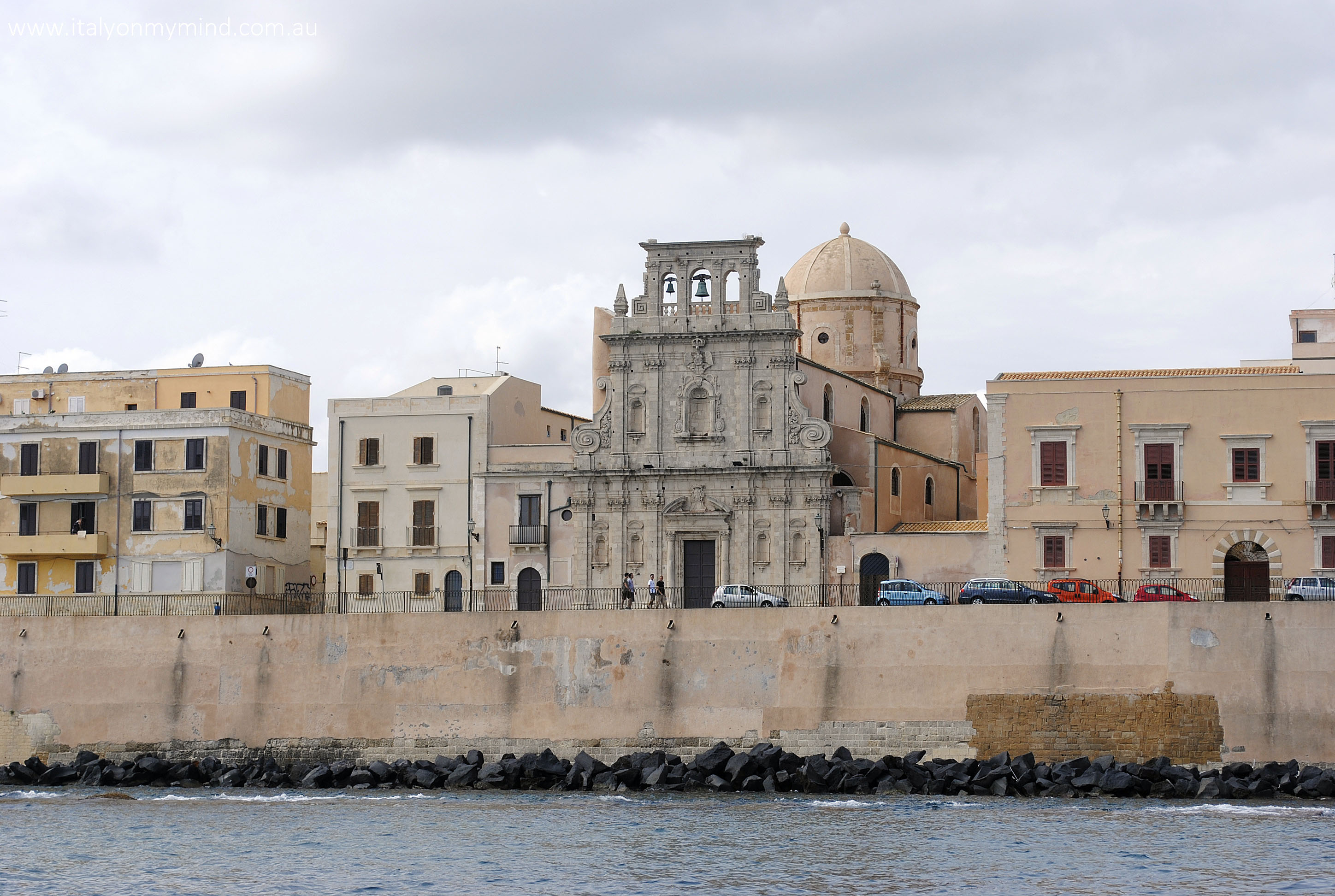 siracusa from the water-italyonmymind