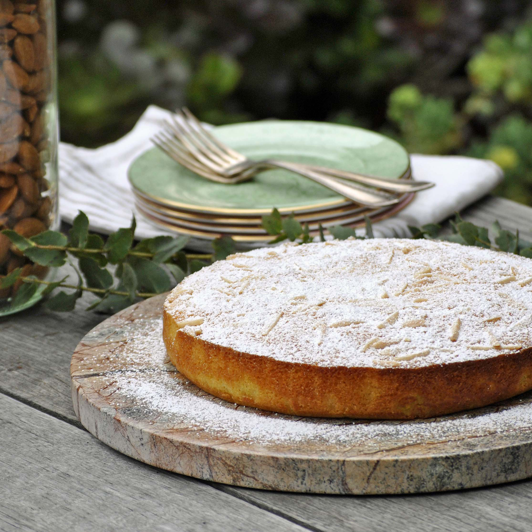 almond coconut cake GF-italy on my mind