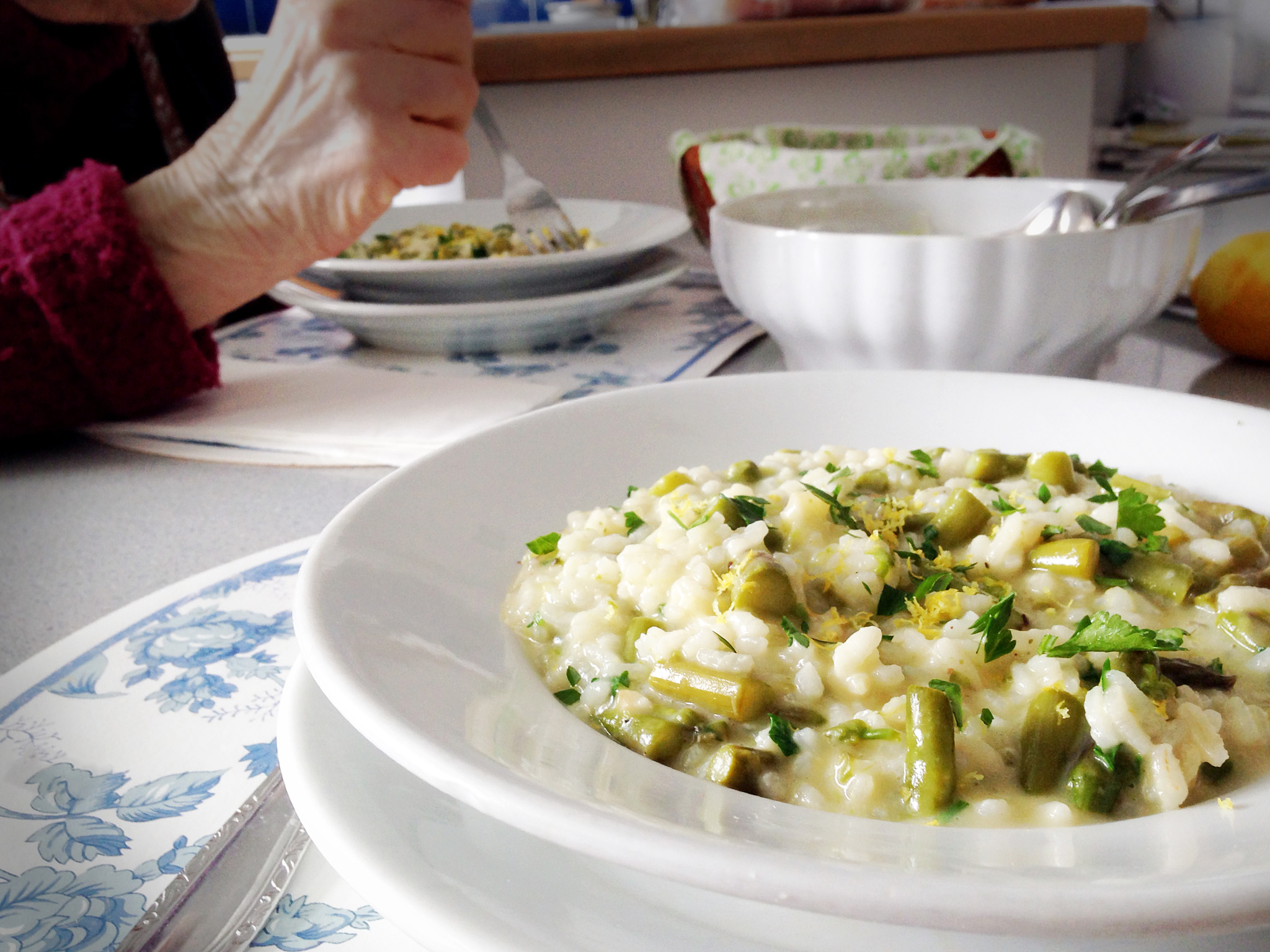risotto asparagus-italy on my mind-best italian food blog
