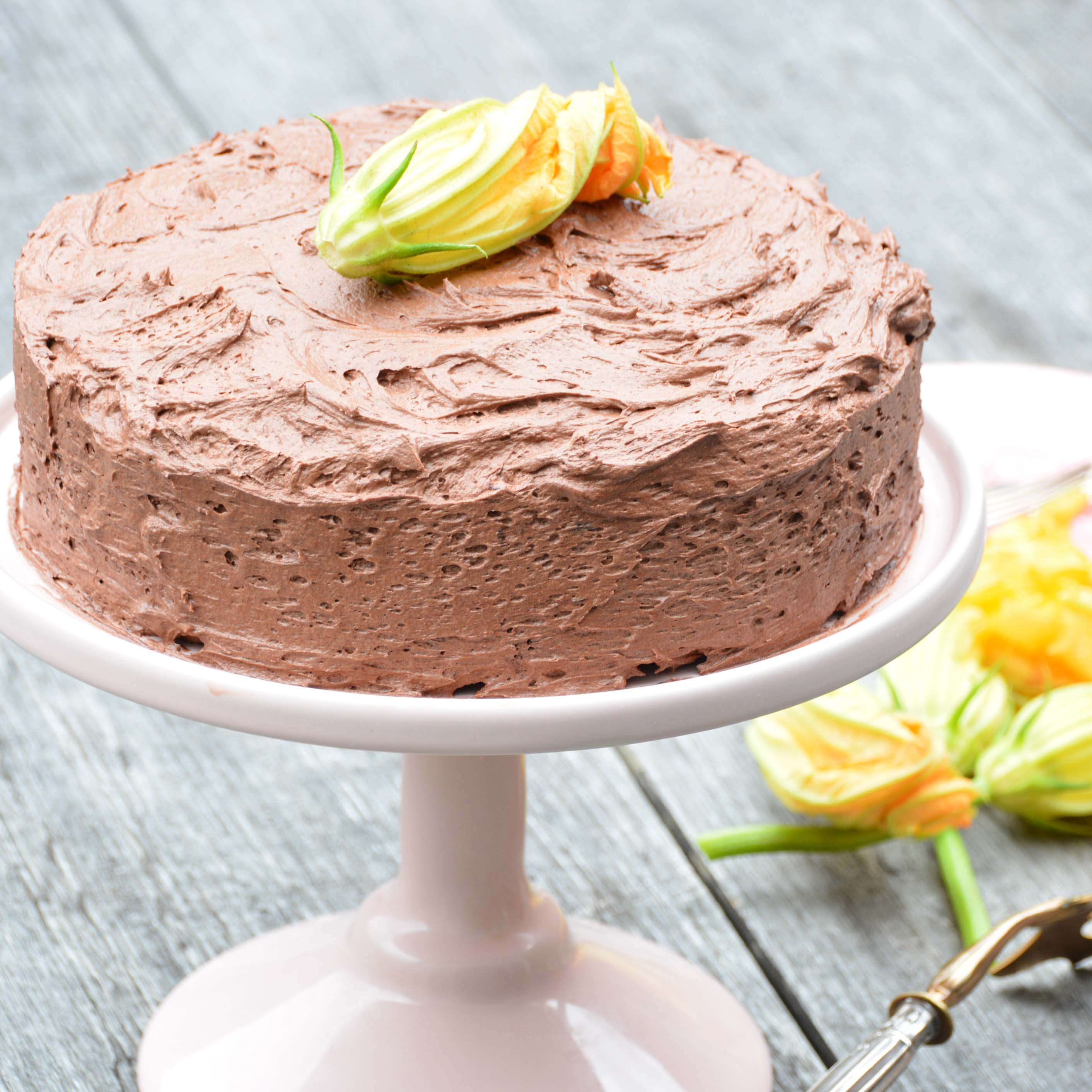 zucchini chocolate cake GF-italy on my mind-foodgawker