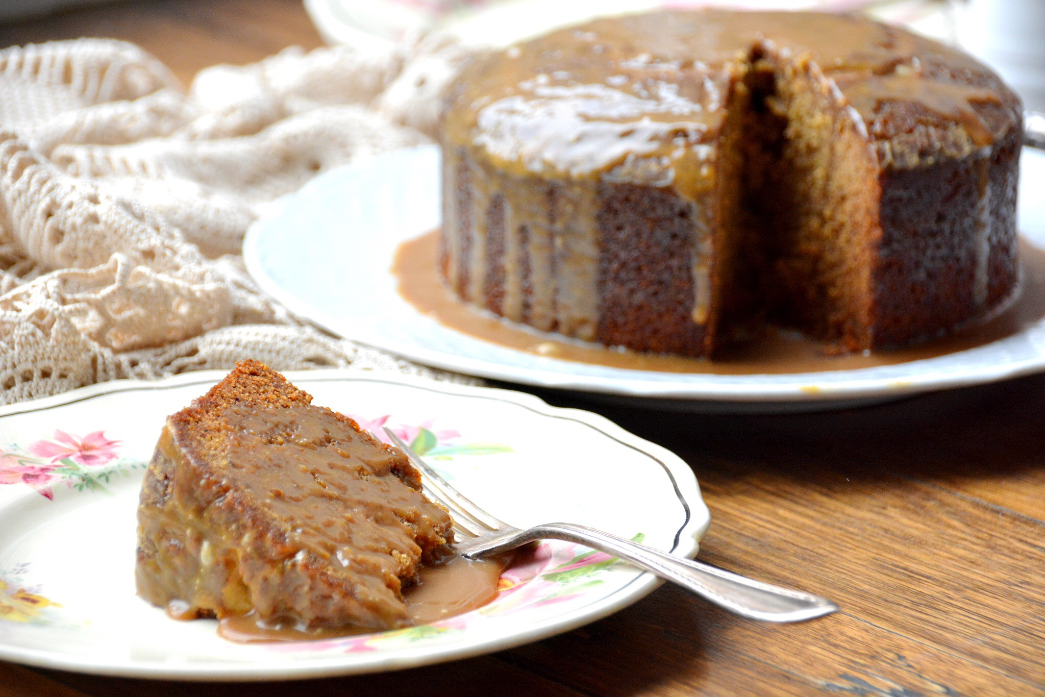Sticky date pudding – gluten free – thanks to Gabriele Ferron