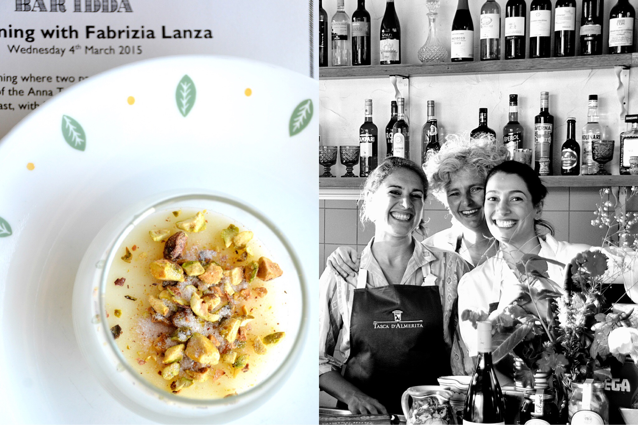 Fabrizia Lanza cooking at Bar Idda – italy on my mind