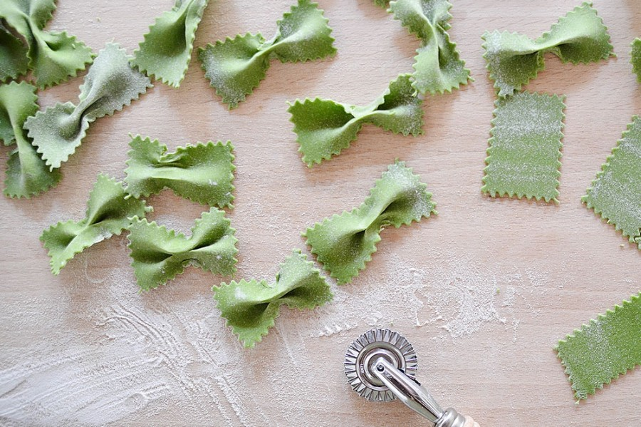Stinging nettle pasta – Spring at the Collingwood Children's Farm Farmers Market