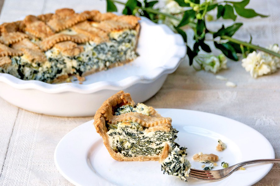 Ricotta and cavolo nero pie – Mondays at home