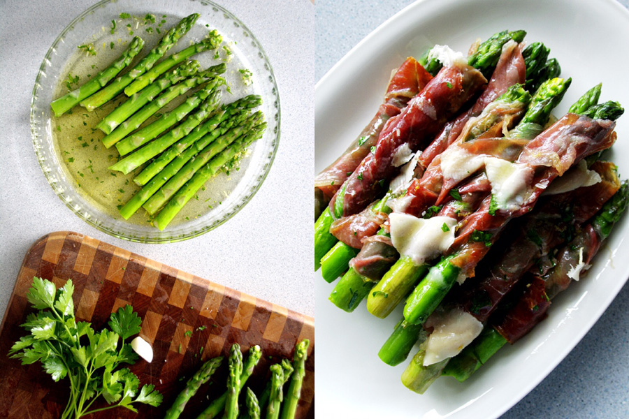 asparagus and prosciutto-italy on my mind-collage1