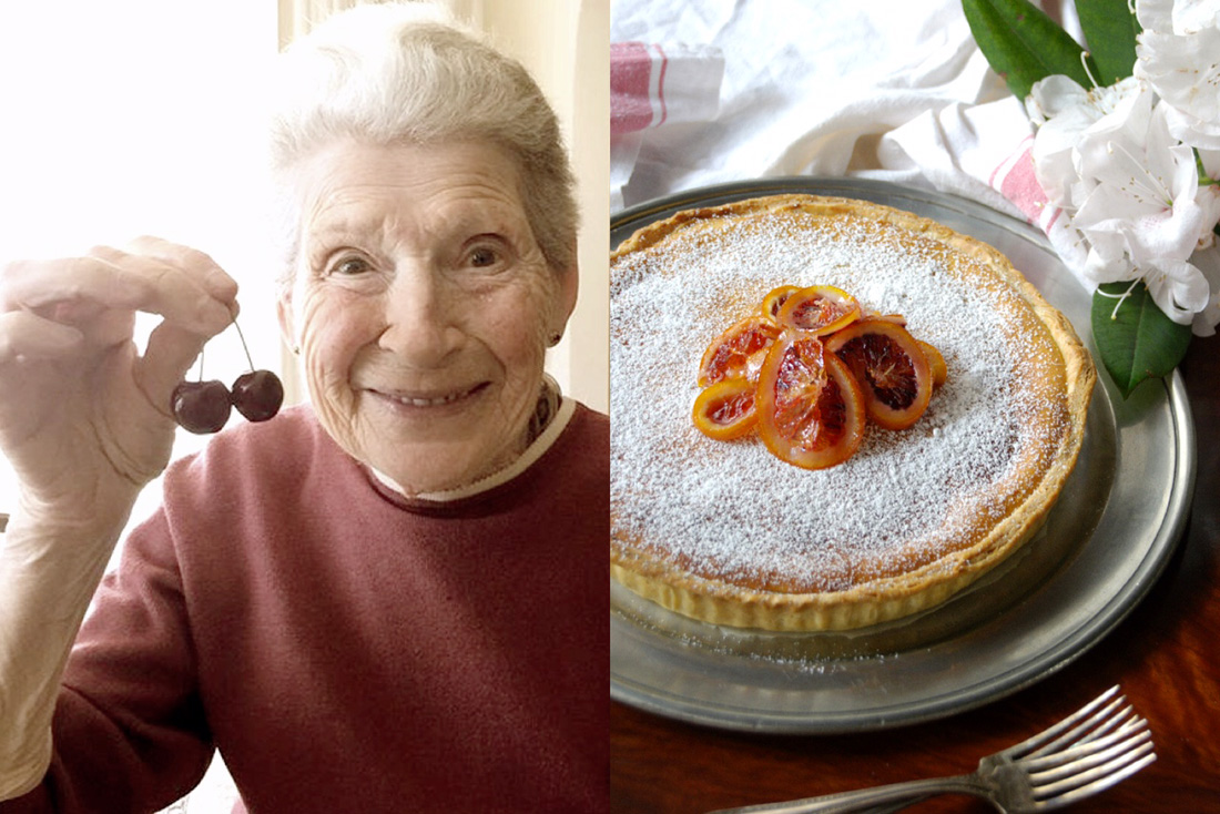 mamma-cherries-festive sicilian ricotta tart-italy on my mind
