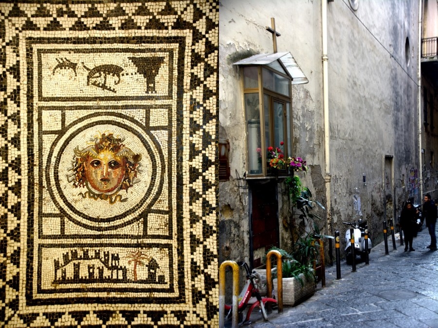 mosaic-cross-napoli-Italy on my mind