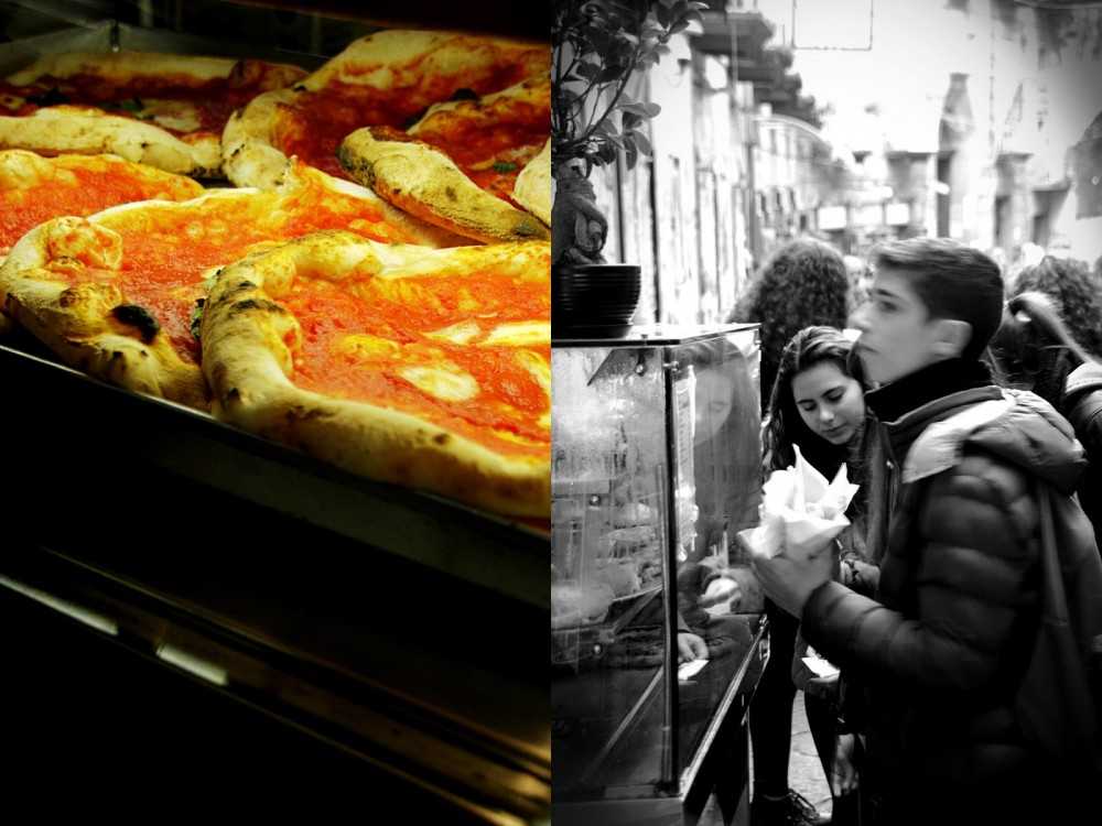 pizza Naples-Italy on my mind