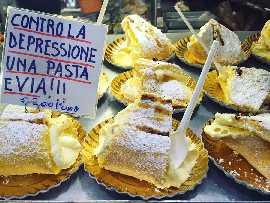 dolci a Bologna-italy on my mind