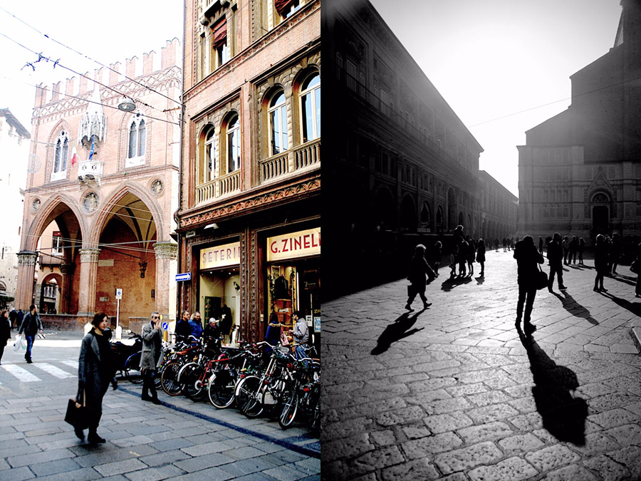 streets of bologna-italy on my mind