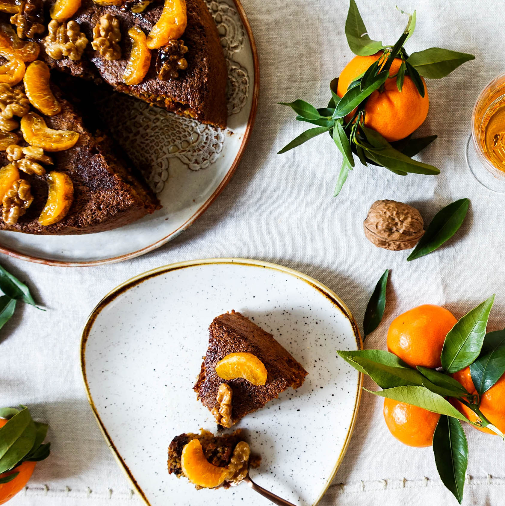 foodgawker-tangerine flourless cake-walnuts chocolate-italy on my mind