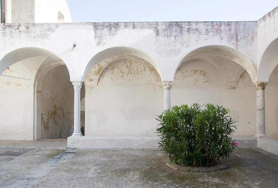 arches at la certosa-capri-italy on my mind