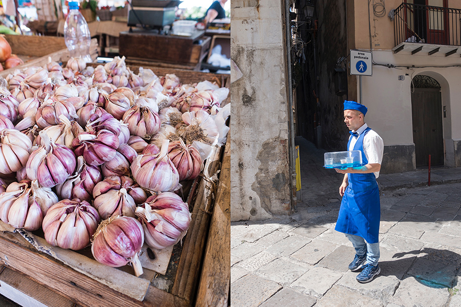 garlic-serving drinks-palermo-italy on my mind
