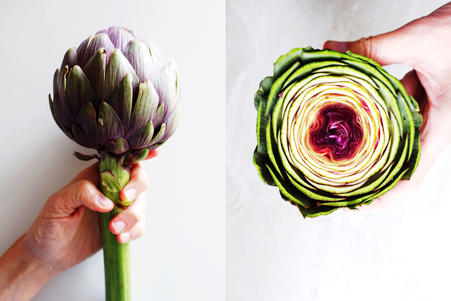 artichokes-cut-italy on my mind