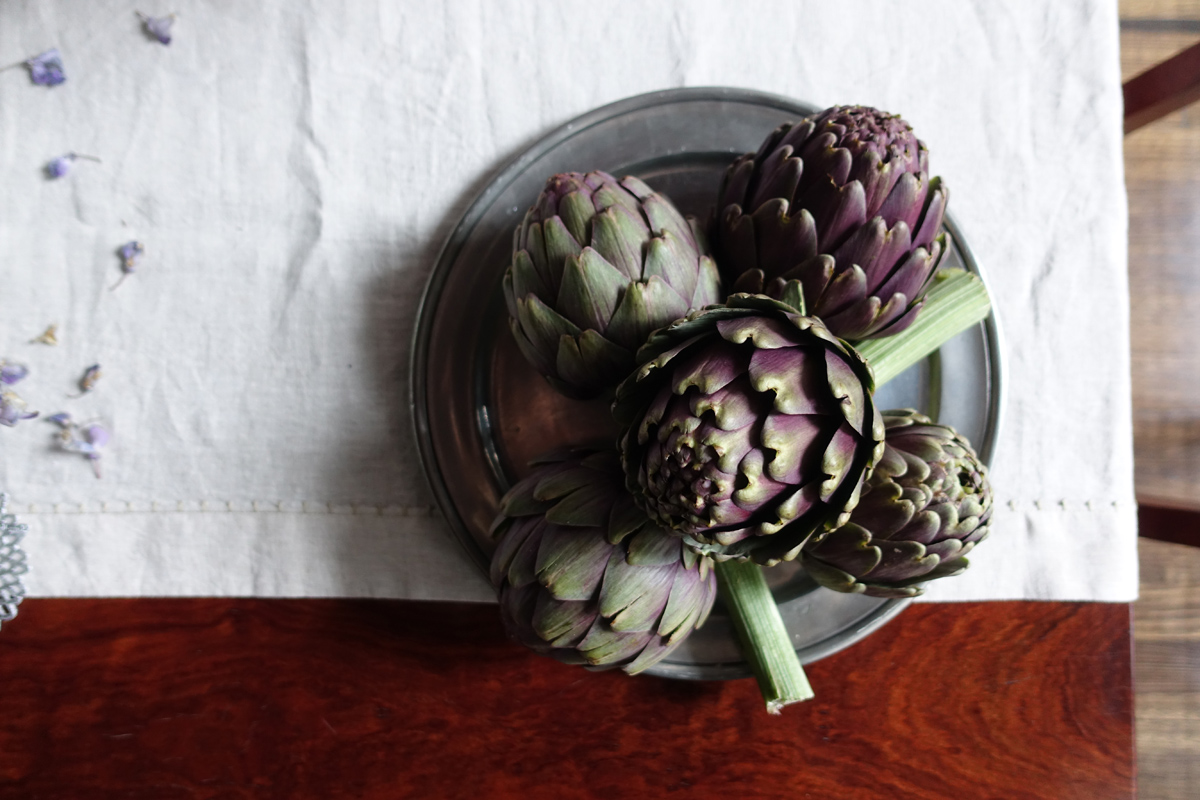 carciofi-artichokes-italy on my mind
