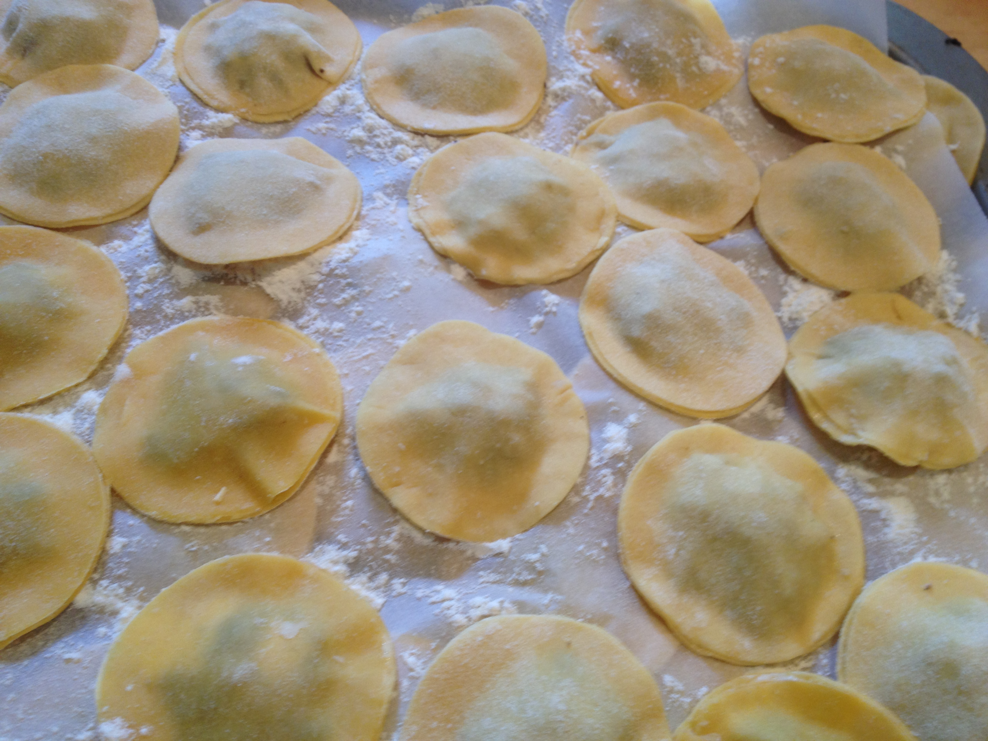 Agnolotti with peas and pancetta in brodo – an audition recipe