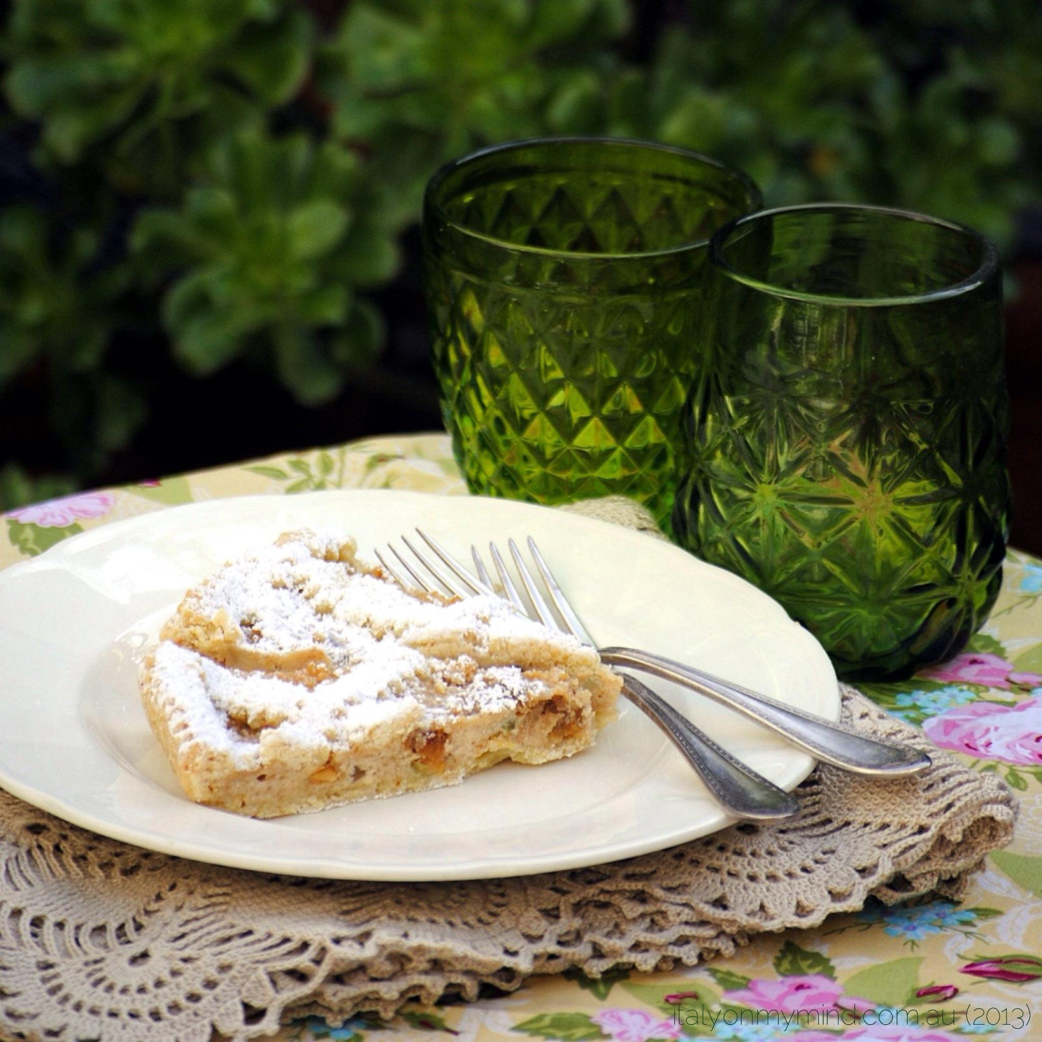 Ricotta tart – crostata di ricotta
