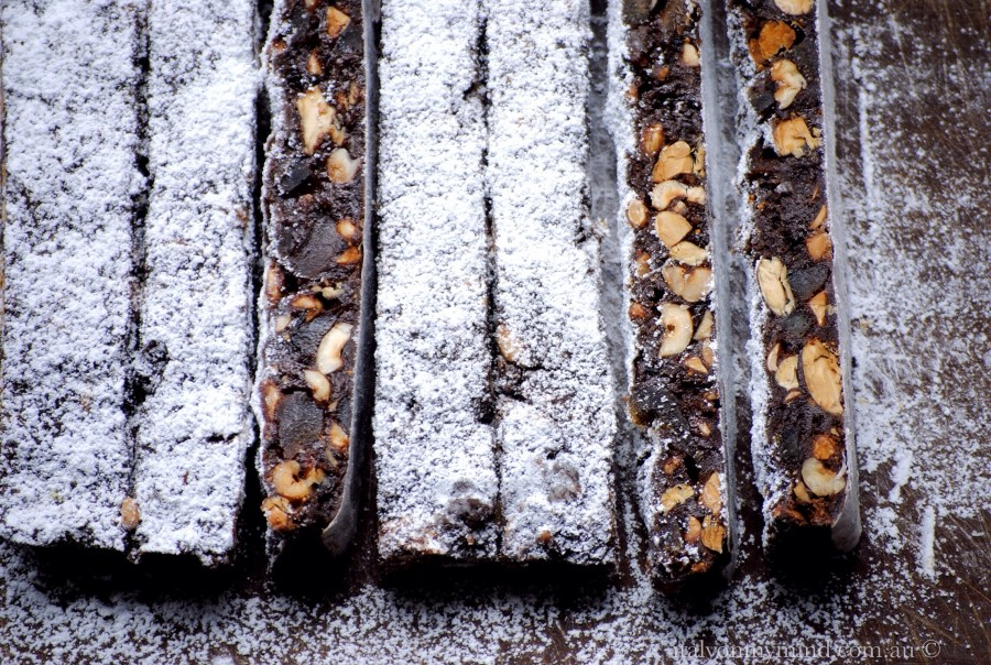 Panforte for Christmas – and a book full of black and white memories