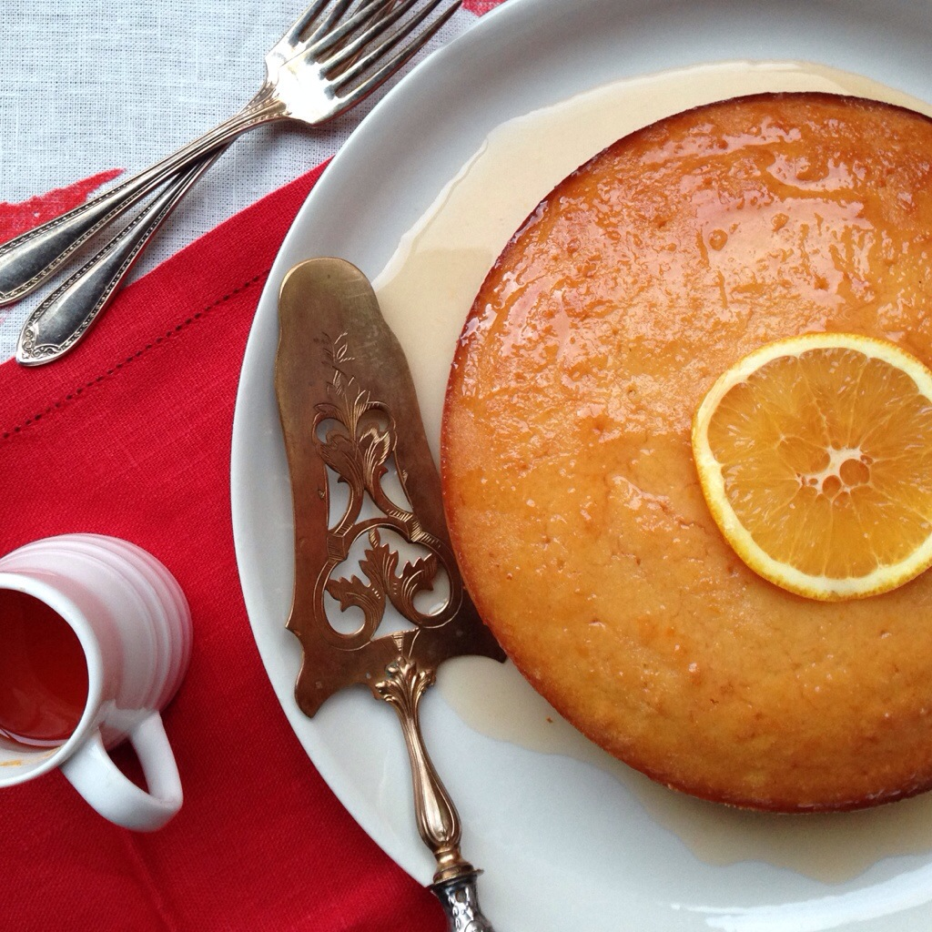 A feast of oranges part 2 – Campari and orange semolina cake