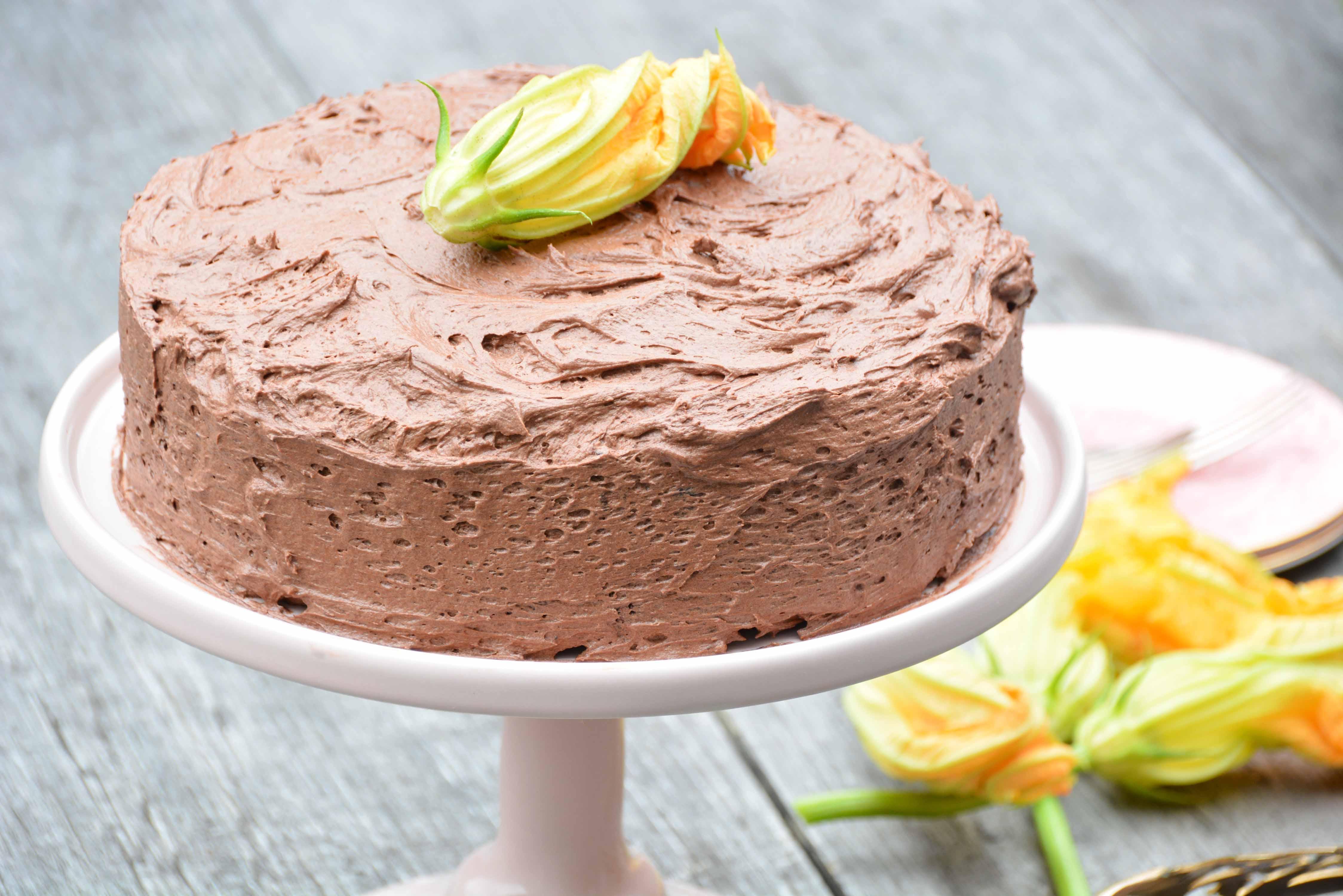Torta con zucchine al cioccolato – (chocolate zucchini cake – gluten free)