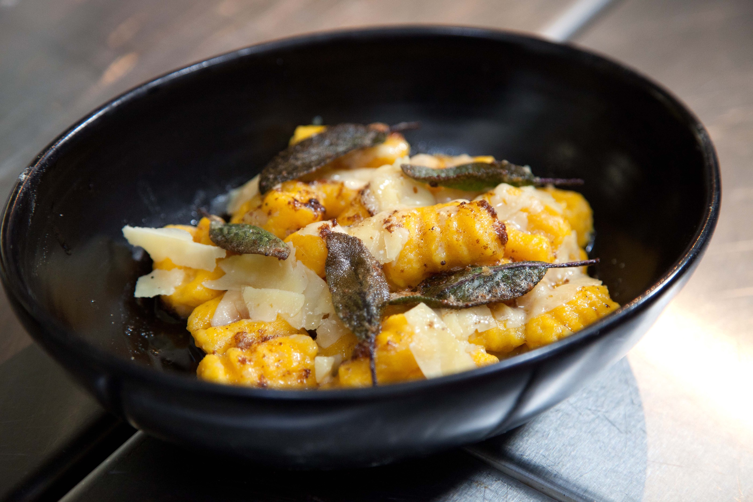 Seasonal cooking in Daylesford – pumpkin gnocchi with a sage butter – and more gnocchi cooking classes