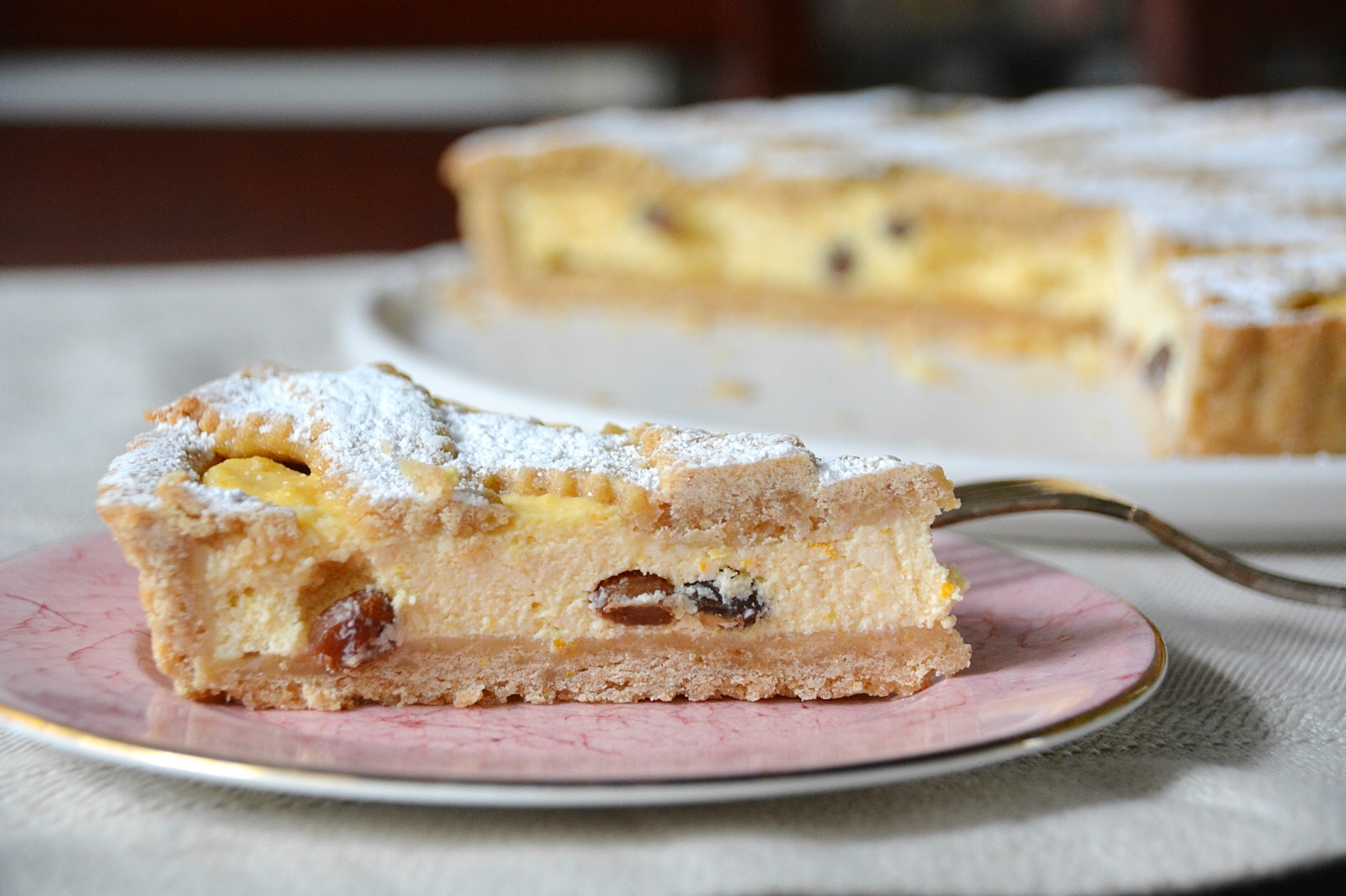 Crostata di ricotta – a new favourite
