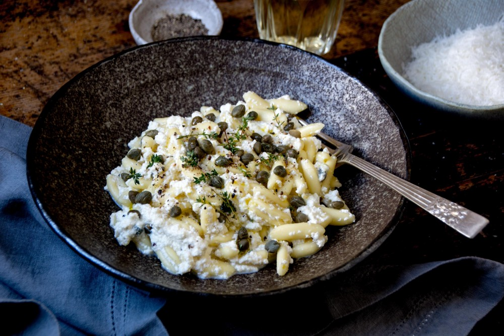 "Capers, Ricotta, Pantelleria and ""A Bigger Splash"""