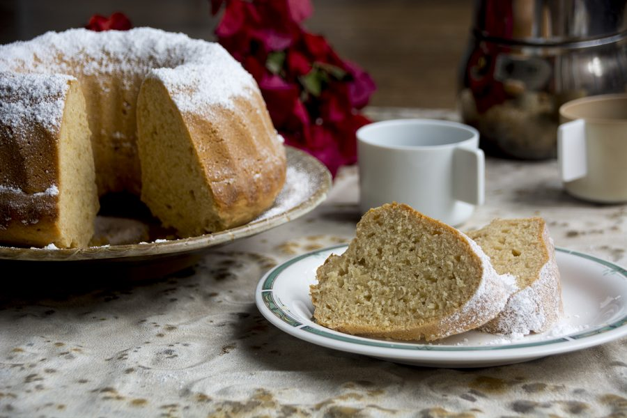 Torte per colazione – ginger, lemon and honey cake