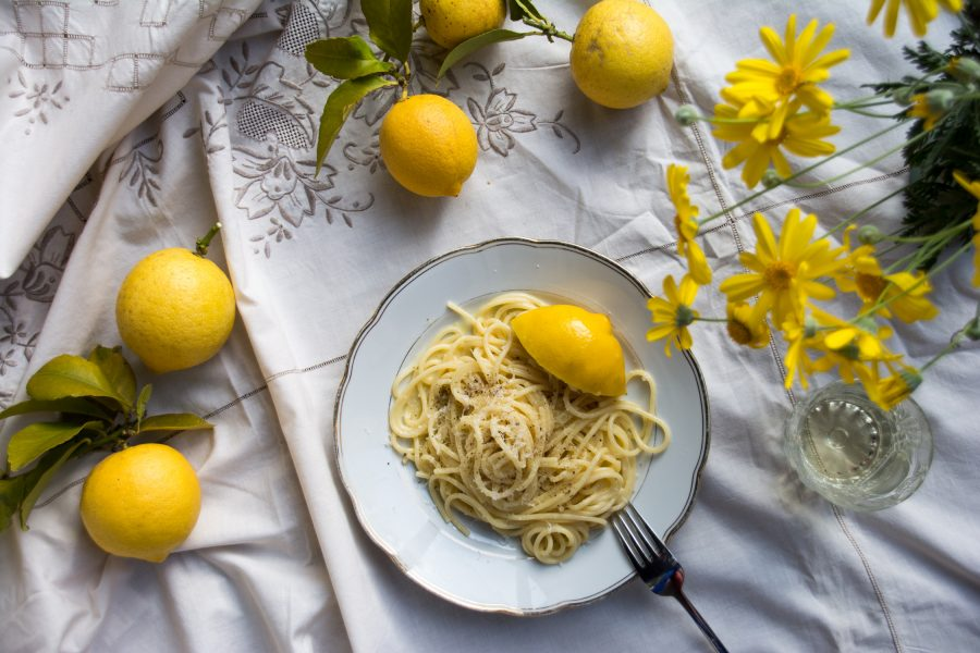 Spaghetti al limone – simple food Italian style